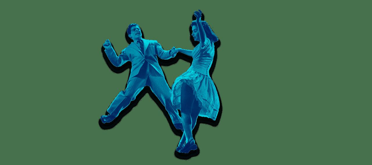 Vintage Swing Dancers